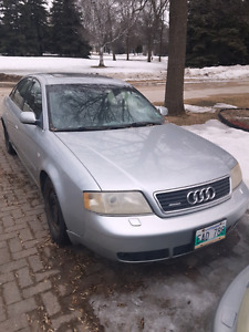 1998 Audi A6 $500 Parts car most likely
