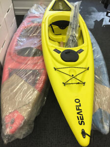 Kayaks + Paddle Boards (brand new + good deals)