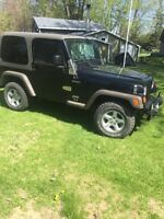 2005 Jeep TJ *Safetied and Etested*