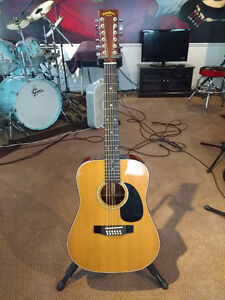 MARTIN / SIGMA 12-STRING ACOUSTIC GUITAR - (MADE IN JAPAN)