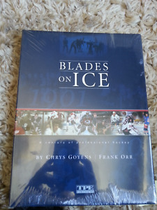 """""""Blades on Ice"""" Book FACTORY SEALED IN PLASTIC MINT!"""