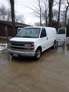 Carpet Cleaning Van/Truckmount