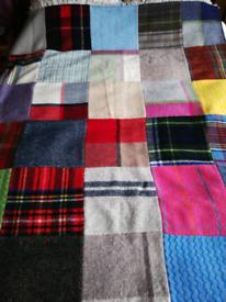 Tweedmill tartan quilt