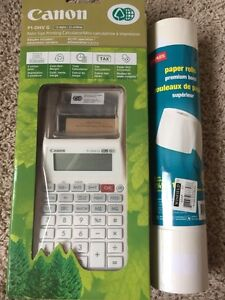 Canon Printing Calculator with paper rolls