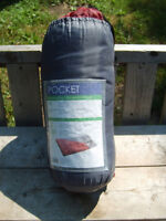 """Excellent Condition Sleeping Bag, 57"""" x 29"""" With Storage Bag"""