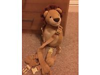 Toddler Reins Lion Backpack