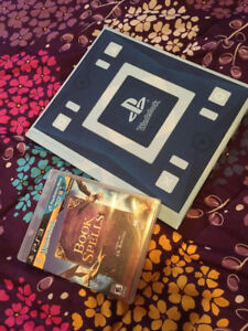 NEW NEVER USED PS3 game & book