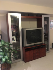 Modern  3 pc TV Wall Unit