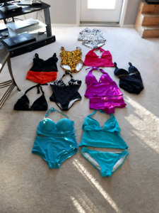 Ladies  bathing Suits  vacation Time   size 10