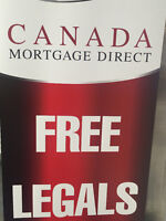 FREE LEGALS for your Mortgage