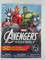 Marvel Avengers Assemble TemporaryTattoos 50 Tattoos Per Pack