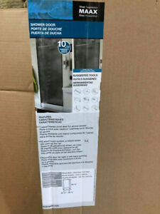 MAXX Progressive Pivot Shower Door 24 ½-26 ½ x 65 3/4.