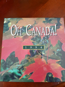 1994 Oh canada coin set mint condition