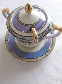 Noritake Porcelain sauce pot.