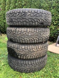 Honda Odyssey Rims with 225/65/17 Pirelli Winter Tires