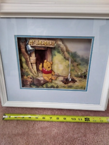 Winnie the Pooh 3-dimensional custom made picture