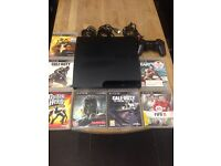 Playstation 3 Slimline 160Gb Bundle 7 Top Games 1 Dualshock Pad Excellent Condition