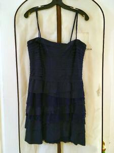 BCBG dark blue tube dress