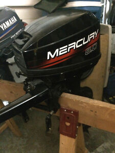 8.0 Horsepower Mercury Motor, Short Shaft