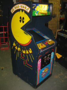 Pac-Man Jr arcade machine....Livraison possible.