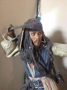 17 in Captain Jack Sparrow Pirates of the Caribbean Figure