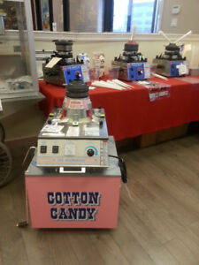 COTTON CANDY EQUIPMENT AND SUPPLIES FOR SALE/RENTAL