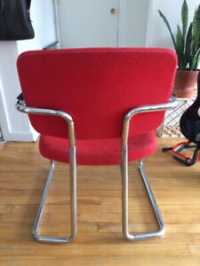 Red Retro Diner Chair