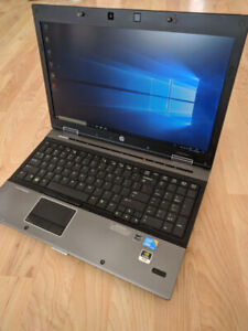 Ordinateur Portable HP  intel i7 quad core