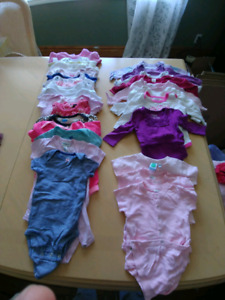 Large lot of 6 month old girl clothes