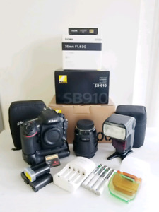 [*** SELLING: NIKON D800 DSLR BUNDLE ***]