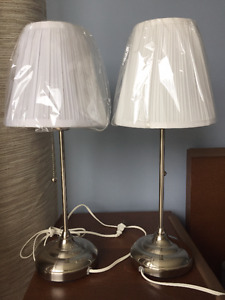 Ikea Arstid Table Lamps (Set of 2)