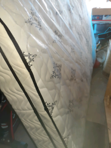 Queen mattress sparingly used