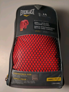 Everlast Laceless Boxing Gloves 7 oz - Red