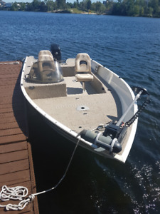 2007 Legend XGS with 60hp Merc Side Console with Trailer