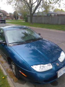 2002 Saturn S-Series sc1 ready to go daily driver well maintaine