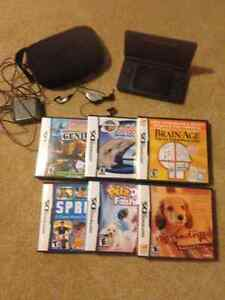 Nintendo DS and 6 games