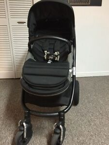 Britax affinity stroller with accessories