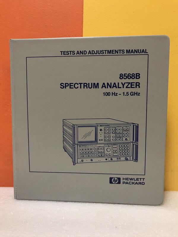 Agilent HP Keysight 08568-90118 8568B Performance Tests and Adjustments Manual