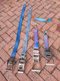 4 ratchet clamps