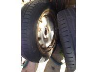 Peugeot partner or Citroen belingo wheels
