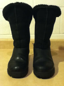 Women's Sorel Black Winter Boots Size 7.5 London Ontario image 2