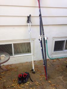 Ski de fond et bottes