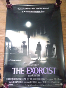 """The Exorcist ((2000)) (Double Sided) 27""""x40"""" Movie Poster"""