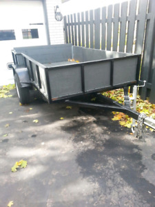 Heavy duty 5' x 9' trailer
