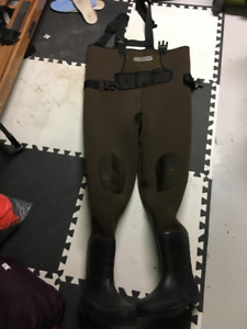 Neoprene Chest Waders, Size 12