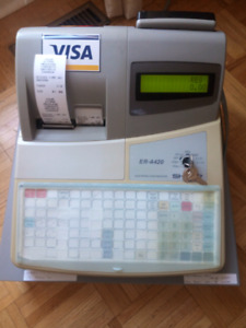 SHARP ER-A420 ELECTRONIC CASH REGISTER for sale.