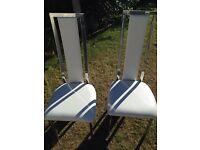 Stylish modern salon chairs