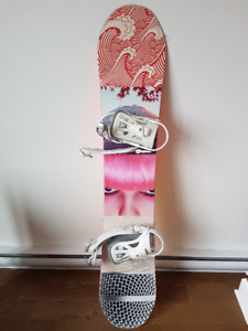 dc ply snowboard / planche a neige