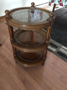3 piece coffee table end table set