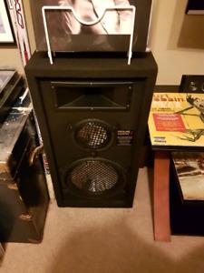 $50 obo, 2x 300w Speakers... approx. 3' tall